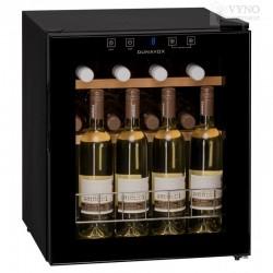 Dunavox DX-16.46K mažas vyno šaldytuvas