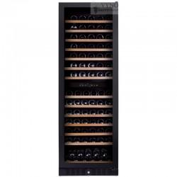 Dunavox DX-166.428DBK įmontuojamas didelis vyno šaldytuvas