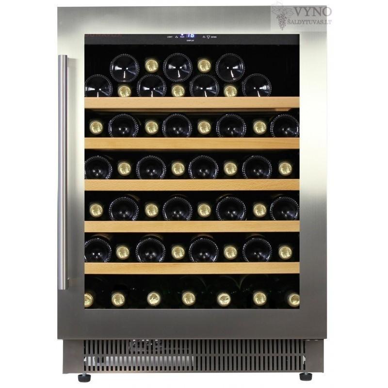 Dunavox DAU-52.146SS įmontuojamas vyno šaldytuvas