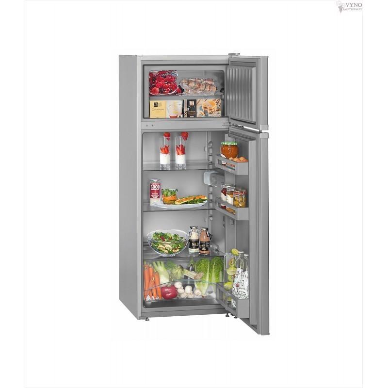 Šaldytuvai su šaldikliu viršuje